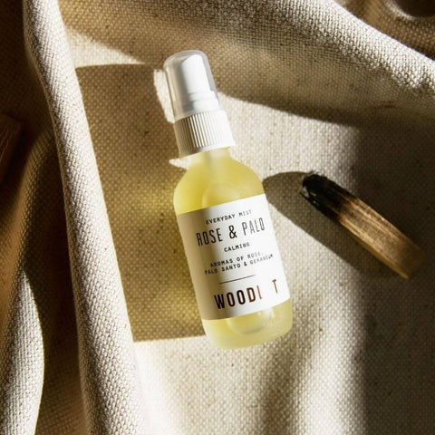 ALL ABOUT PALO SANTO - WOODLOT Everyday Mist in Rose and Palo Santo