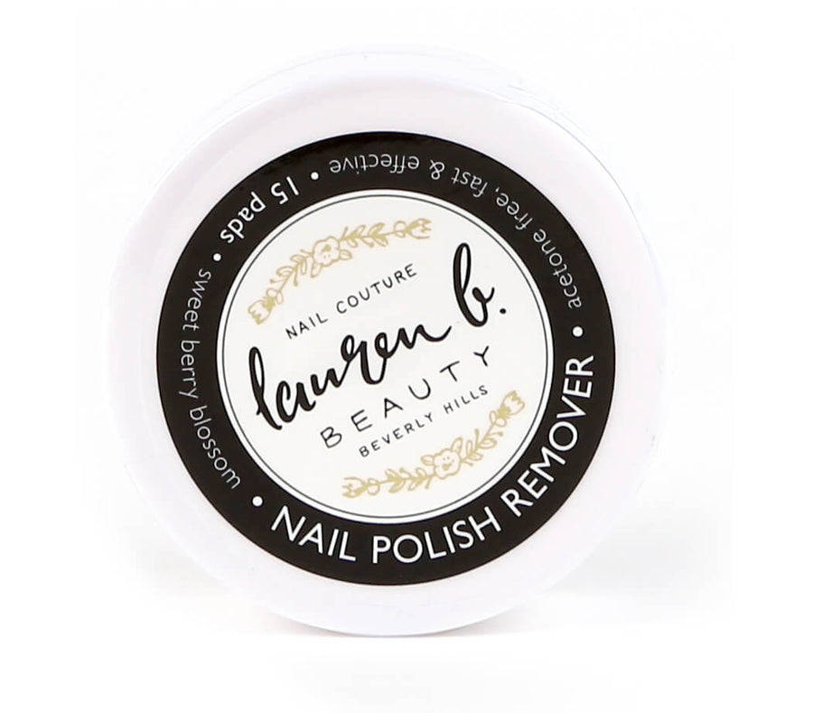 LAUREN B Nail Polish Remover Pads, NAIL CARE, LAUREN B, Luvi Beauty & Wellness