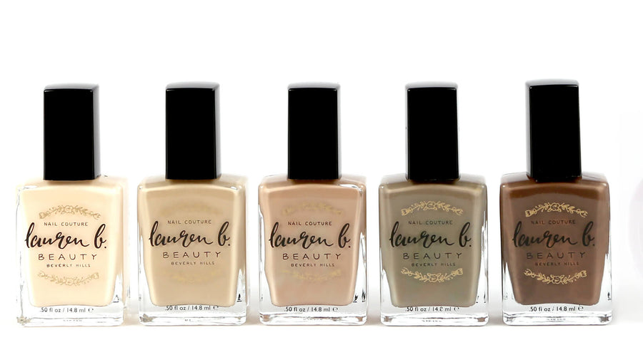 LAUREN B Nail Polish - NUDES, NAIL POLISH, LAUREN B, Luvi Beauty & Wellness