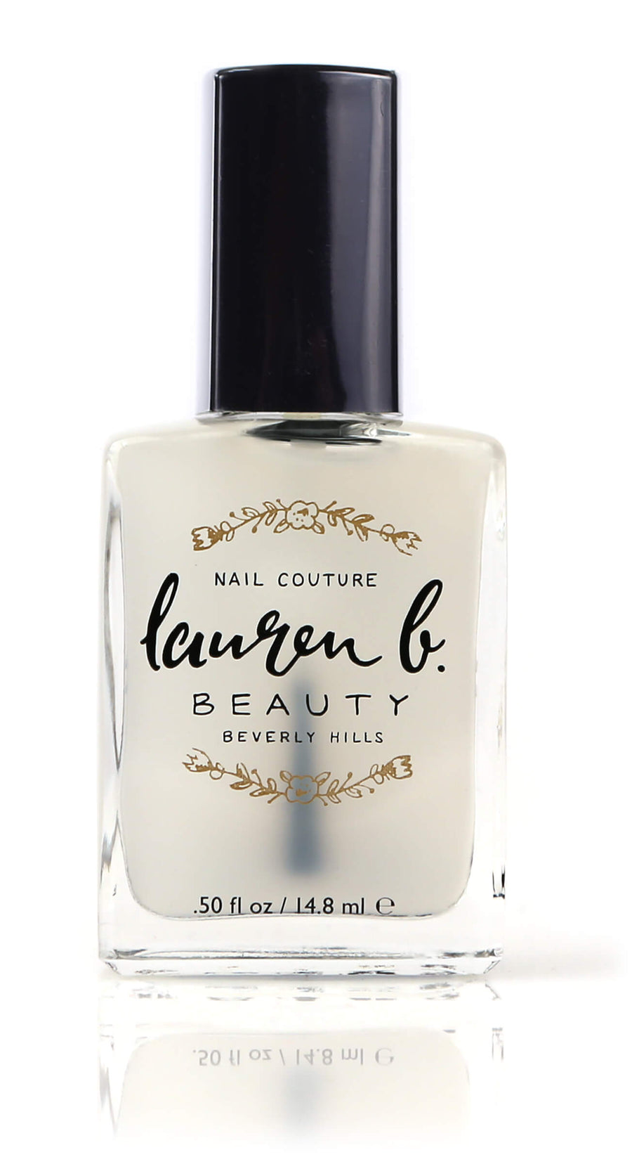 LAUREN B Matte Top Coat, NAIL POLISH, LAUREN B, Luvi Beauty