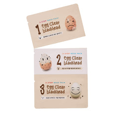 BOTANIC FARM Egg Clear Black Head 3-Step Nose Pack, Face Mask, BOTANIC FARM, Luvi Beauty