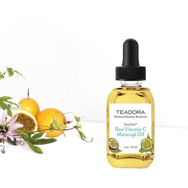 TEADORA Raw Vitamin C Maracujá Oil, Face Oil, TEADORA, Luvi Beauty & Wellness