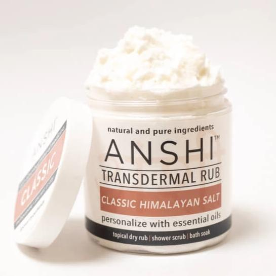 ANSHI Classic Himalayan Salt Transdermal Rub-Body Treatment-Luvi Beauty & Wellness