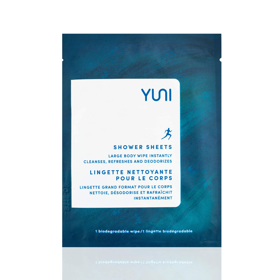 YUNI Shower Sheets Large-Body Cleanser-Luvi Beauty & Wellness