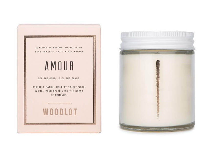 WOODLOT Candles Amour Collection 8oz-Candle-Luvi Beauty & Wellness