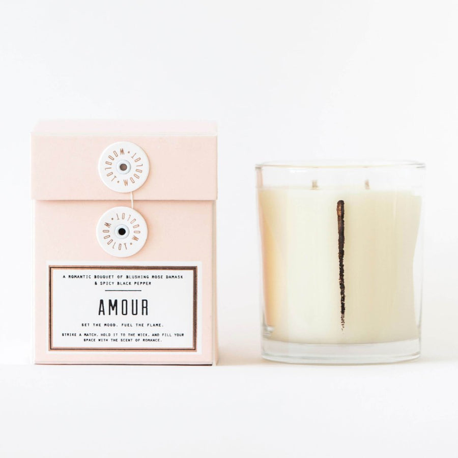 WOODLOT Candles Amour Collection, Candle, WOODLOT, Luvi Beauty