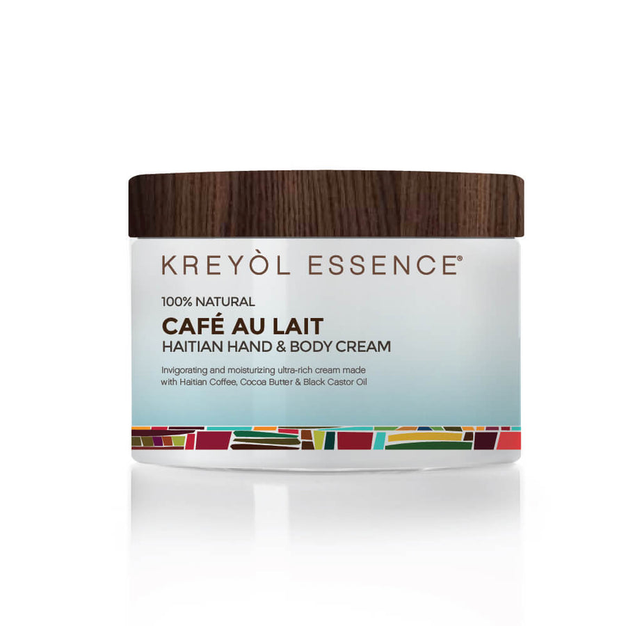 KREYOL ESSENCE Haitian Hand & Body Crème - Cafe Au Lait, Body Moisturizer, KREYOL ESSENCE, Luvi Beauty & Wellness