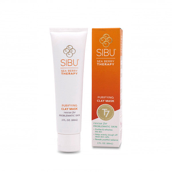 SIBU Purifying Clay Mask, Face Mask, SIBU, Luvi Beauty & Wellness