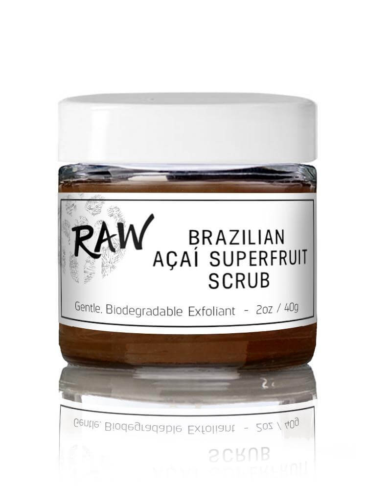 TEADORA Brazilian Açaí Superfruit Scrub, Facial Cleanser, TEADORA, Luvi Beauty & Wellness