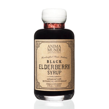 ANIMA MUNDI Elderberry Syrup with Antivirals-Supplements-Luvi Beauty & Wellness