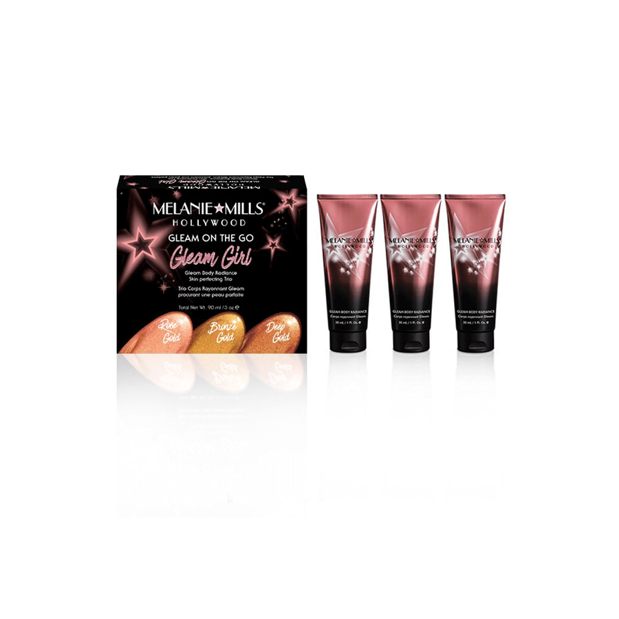 MELANIE MILLS Gleam Girl On The Go Body Radiance Kit, Body Makeup, MELANIE MILLS, Luvi Beauty & Wellness