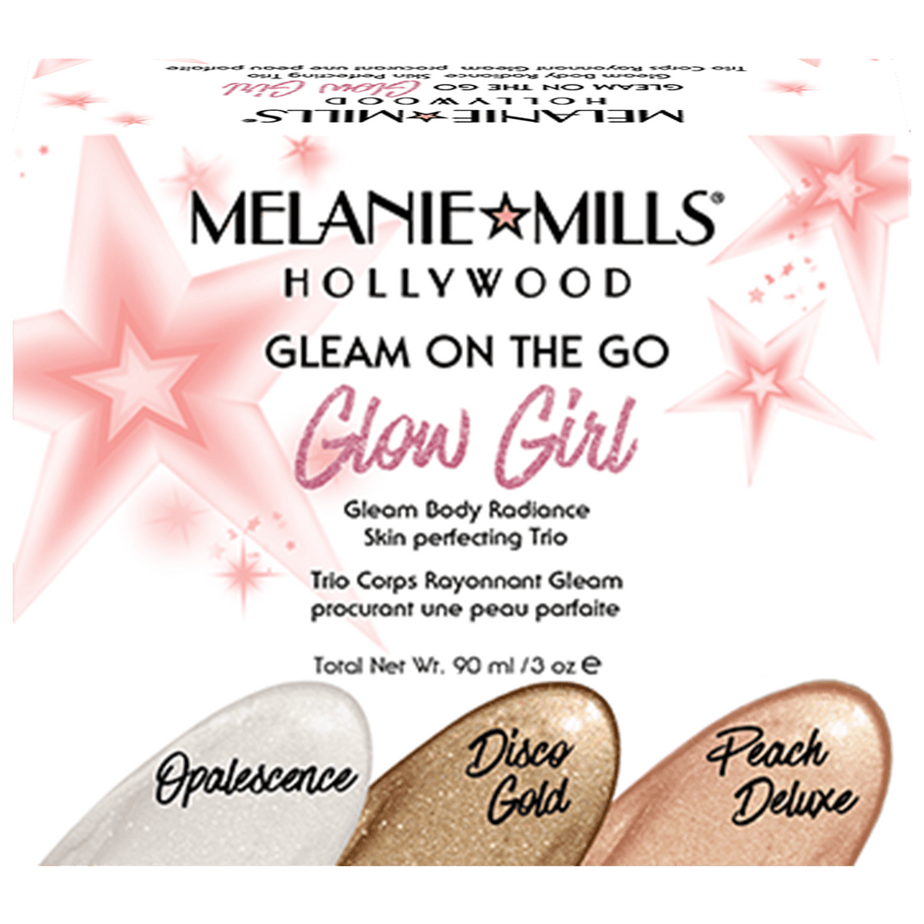 MELANIE MILLS Glow Girl Gleam On the Go Body Radiance Kit, Body Makeup, MELANIE MILLS, Luvi Beauty & Wellness