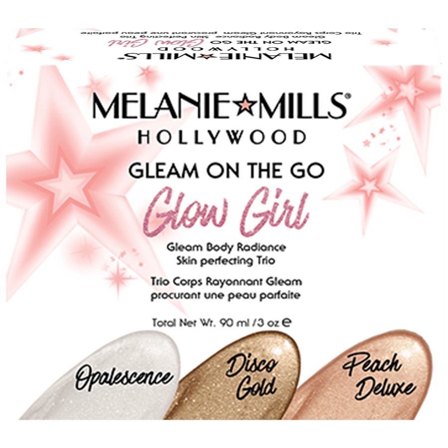 MELANIE MILLS Glow Girl Gleam On the Go Body Radiance Kit-Body Makeup-Luvi Beauty & Wellness