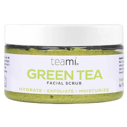 TEAMI Green Tea Facial Scrub, Facial Cleanser, TEAMI, Luvi Beauty & Wellness