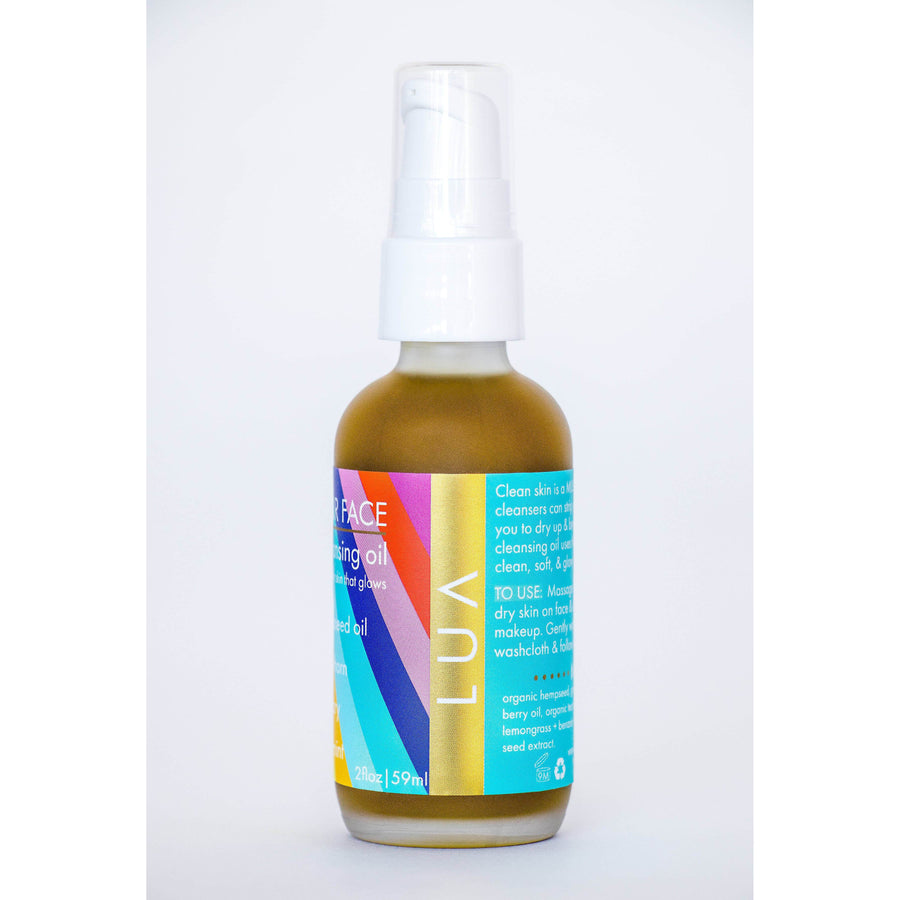 LUA Love Your Face Cleansing Oil, Facial Cleanser, LUA, Luvi Beauty & Wellness