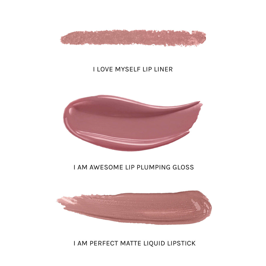 REALHER Lip Kit - I AM AWESOME, Lipstick, REALHER, Luvi Beauty & Wellness