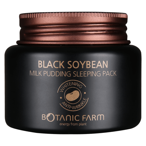 BOTANIC FARM Black Soybean Milk Pudding Sleeping Pack, Face Mask, BOTANIC FARM, Luvi Beauty