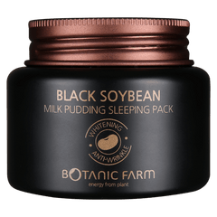 BOTANIC FARM Black Soybean Milk Pudding Sleeping Pack, Facial Moisturizer, BOTANIC FARM, Luvi Beauty