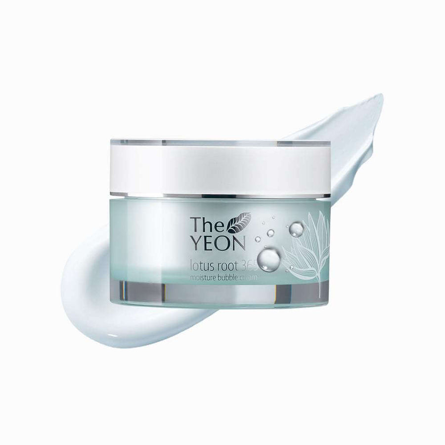 THE YEON Lotus Root 365 Moisture Bubble Cream, Facial Moisturizer, THE YEON, Luvi Beauty