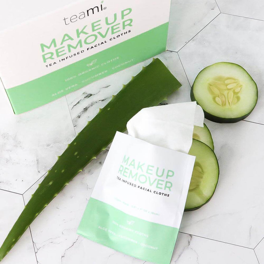 TEAMI Organic Makeup Remover Cloths