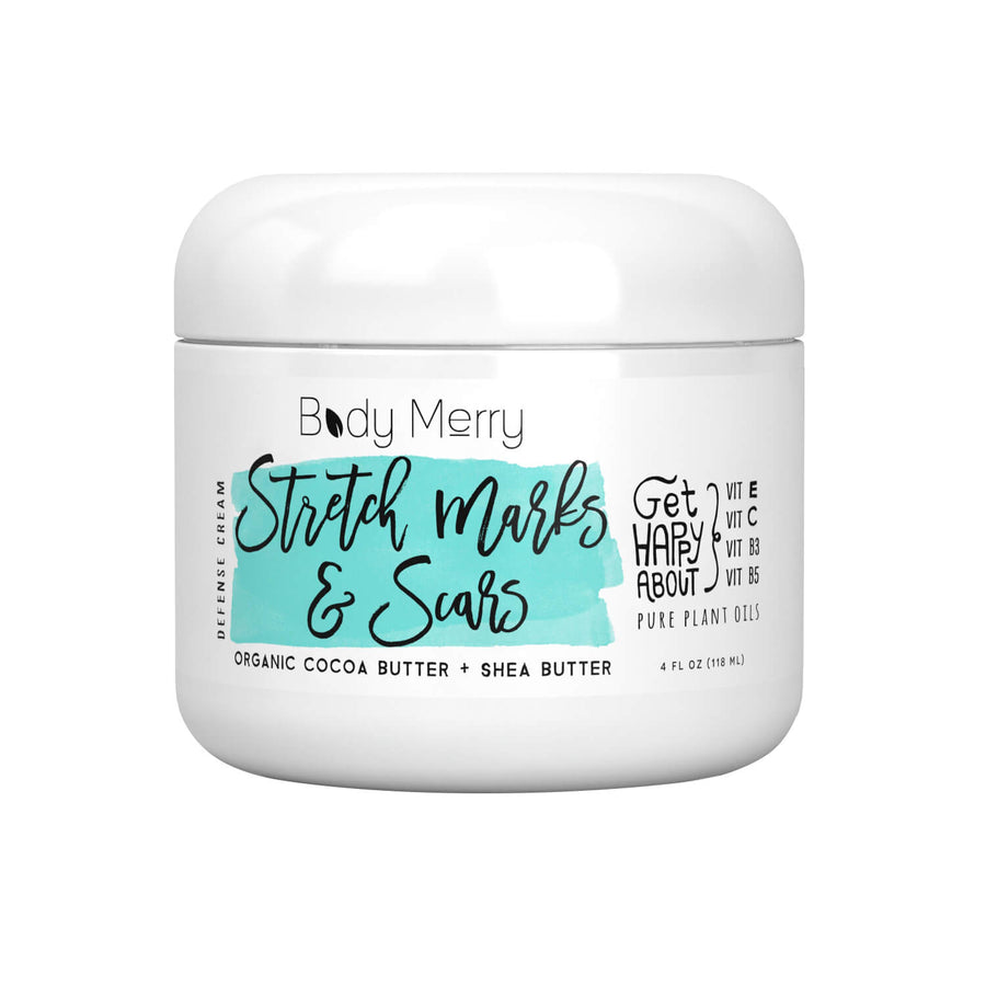 BODY MERRY Stretch Marks & Scars Defense Cream, Body Treatment, BODY MERRY, Luvi Beauty