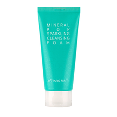 BOTANIC FARM Mineral Pop Sparkling Cleansing Foam, FACIAL CLEANSER, BOTANIC FARM, Luvi Beauty