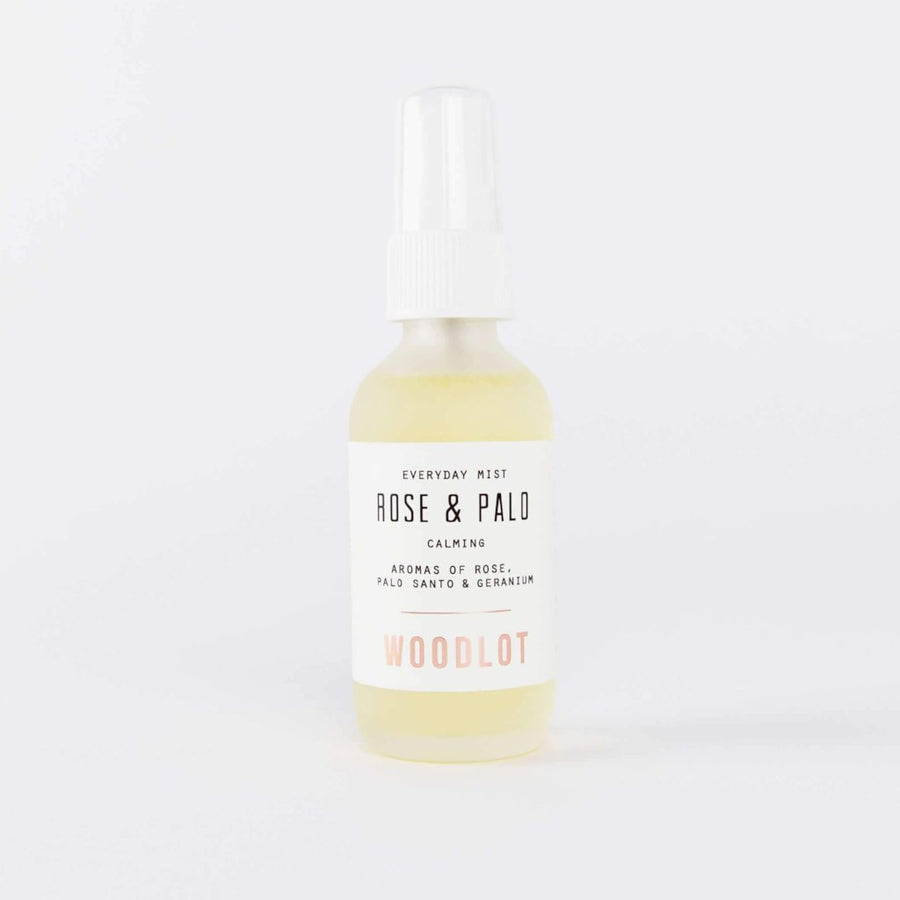 WOODLOT Everyday Mist in Rose and Palo Santo, Facial Mist, WOODLOT, Luvi Beauty