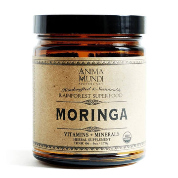 ANIMA MUNDI Moringa Superfood Powder-Ingestible-Luvi Beauty & Wellness