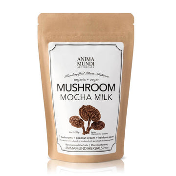 ANIMA MUNDI Mushroom Mocha Milk-Supplements-Luvi Beauty & Wellness