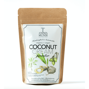 ANIMA MUNDI Coconut Cream Powder-Ingestible-Luvi Beauty & Wellness