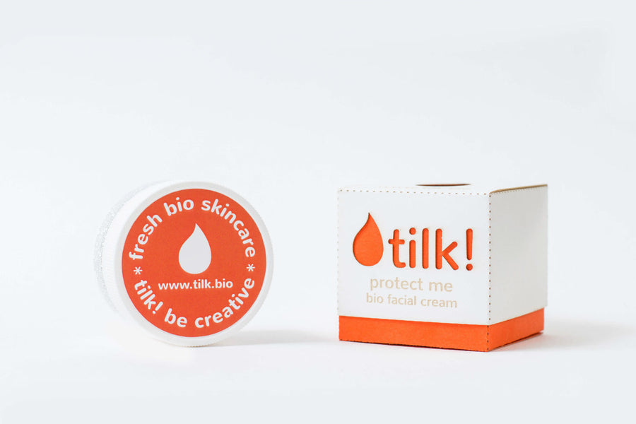 TILK! Protect Me Facial Cream for Sensitive Skin, Facial Moisturizer, TILK, Luvi Beauty