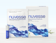 NUVESSE Deep Hydrating & Brightening Regimen Kit (FACE)
