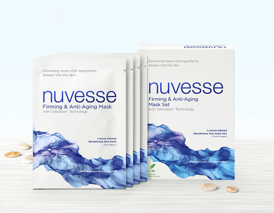 NUVESSE Firming & Anti-Aging Mask Set (FACE), Face Mask, NUVESSE, Luvi Beauty