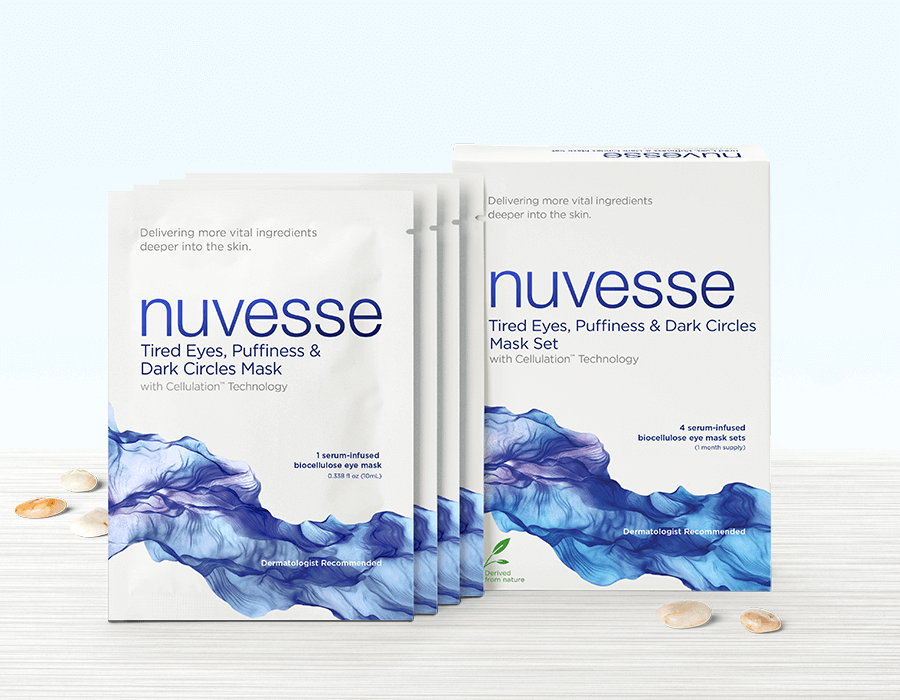 NUVESSE Tired Eyes, Puffiness & Dark Circles Mask Set (EYE), Face Mask, NUVESSE, Luvi Beauty