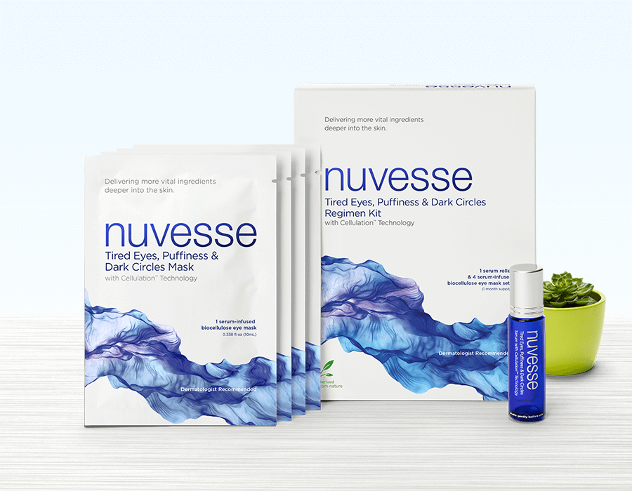 NUVESSE Tired Eyes, Puffiness & Dark Circles Regimen Kit (EYE), Eye Treatment, NUVESSE, Luvi Beauty