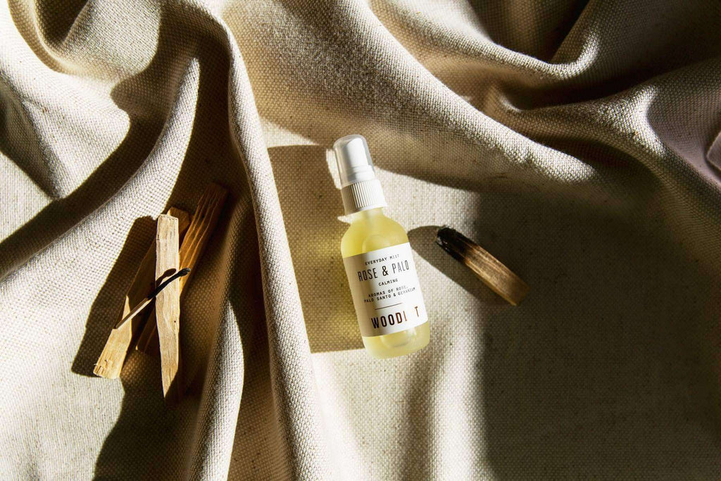 WOODLOT Everyday Mist in Rose and Palo Santo, Facial Mist, WOODLOT, Luvi Beauty & Wellness