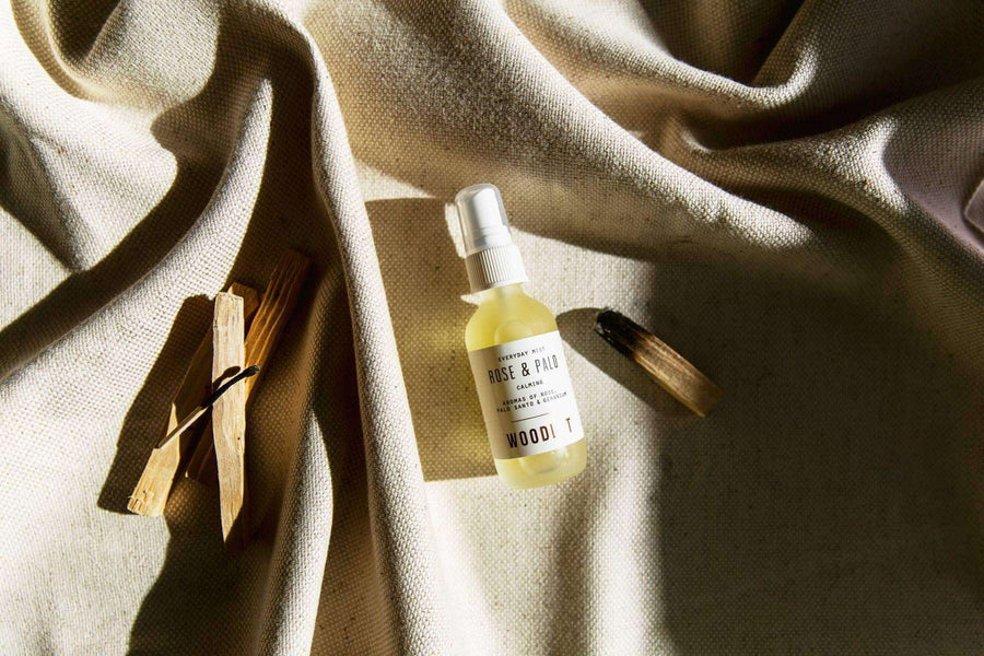 WOODLOT Everyday Mist in Rose and Palo Santo