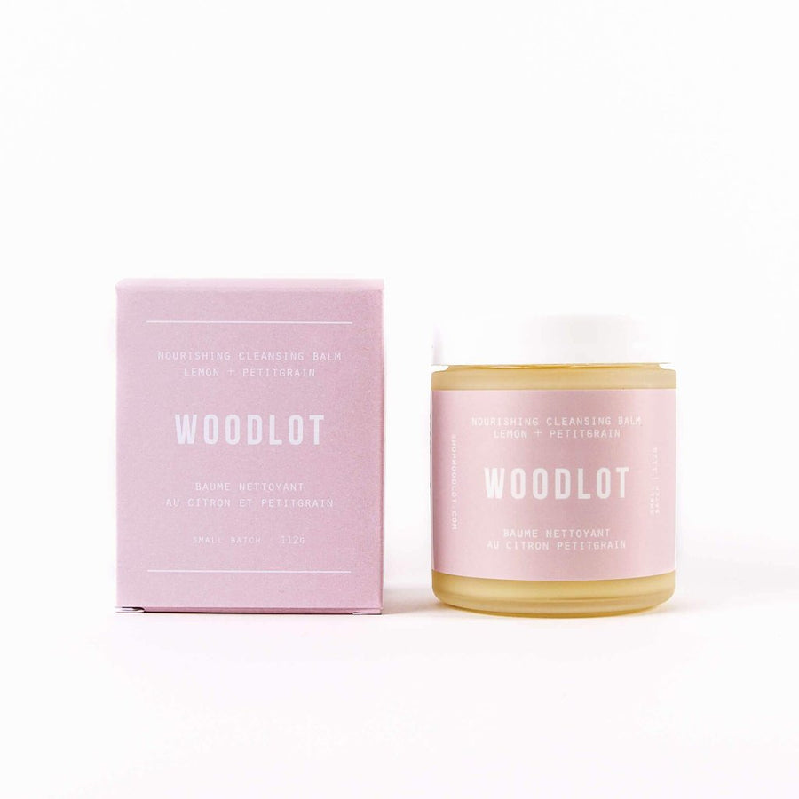 WOODLOT Nourishing Cleansing Balm, Facial Cleanser, WOODLOT, Luvi Beauty