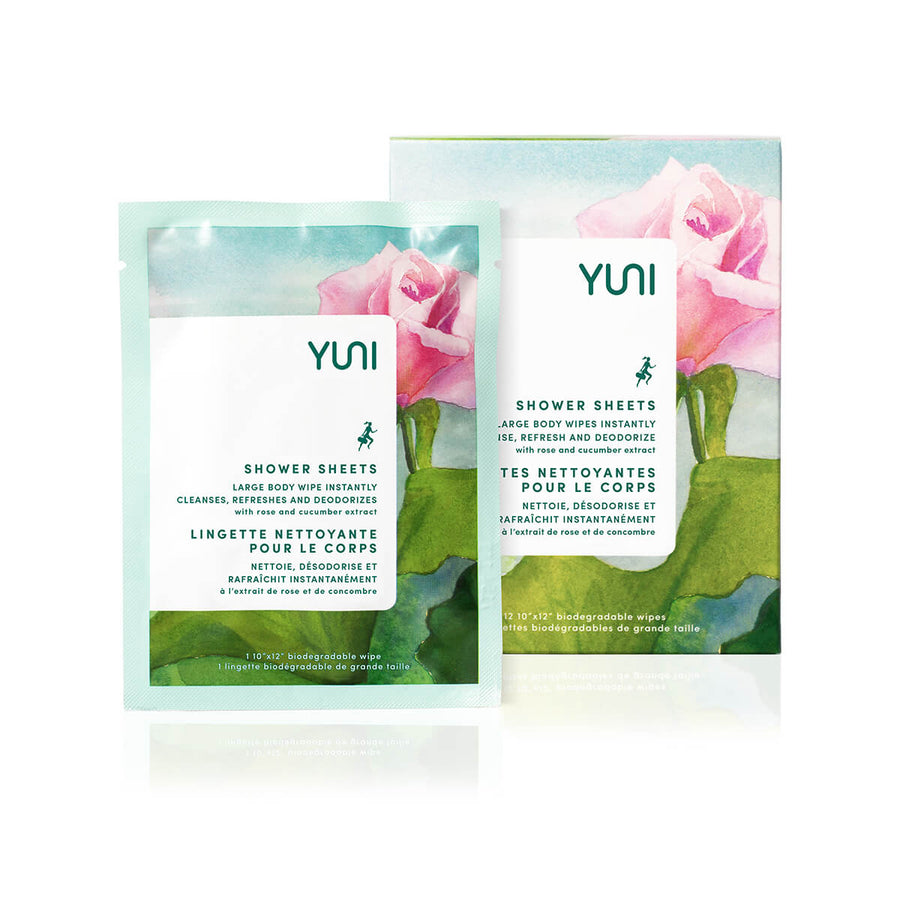 YUNI Rose Cucumber Shower Sheets-Body Cleanser-Luvi Beauty & Wellness