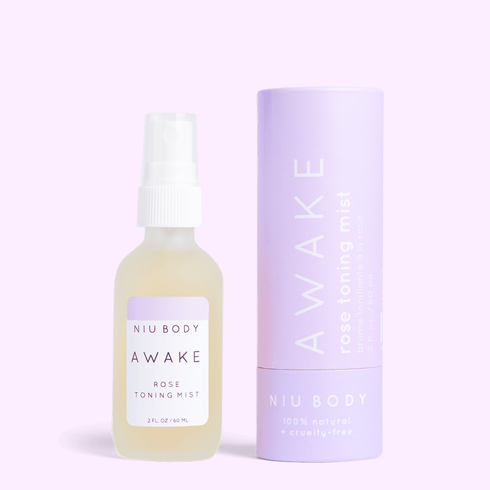 NIU BODY Awake Rose Toning Mist, Face Toner, NIU BODY, Luvi Beauty & Wellness