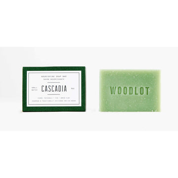 WOODLOT Soap Bar - Cascadia-Body Cleanser-Luvi Beauty & Wellness