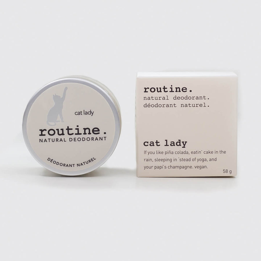 ROUTINE Naturals Cream Deodorant – Vegan (No Beeswax), DEODORANT, ROUTINE NATURALS, Luvi Beauty & Wellness