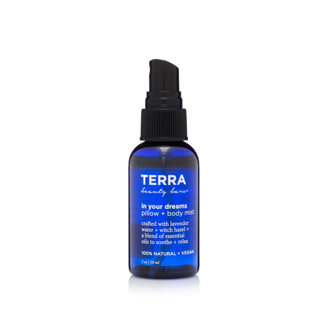 TERRA BEAUTY BARS Body + Pillow Spray, Body Mist, TERRA BEAUTY BARS, Luvi Beauty & Wellness