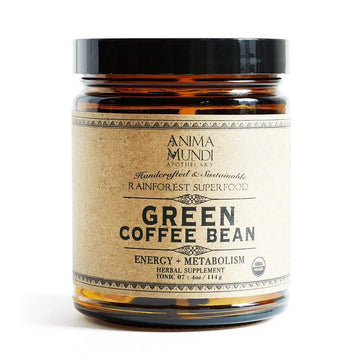 ANIMA MUNDI Green Coffee Bean Superfood Powder-Ingestible-Luvi Beauty & Wellness