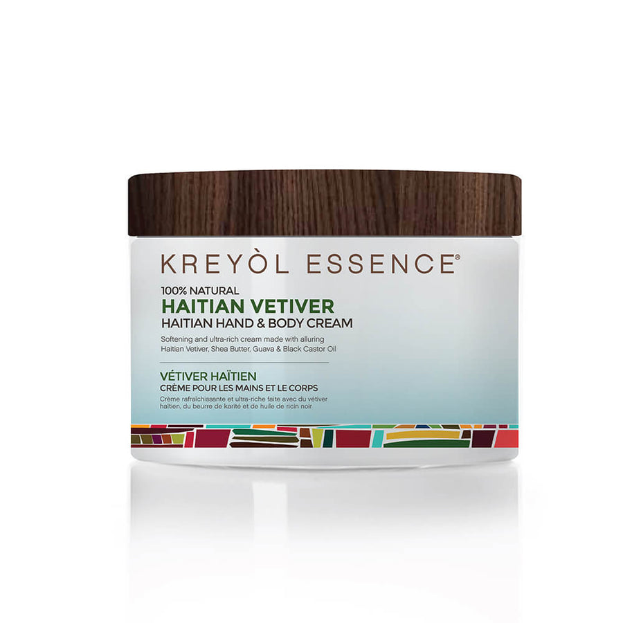 KREYOL ESSENCE Haitian Hand & Body Creme - Vetiver, Body Moisturizer, KREYOL ESSENCE, Luvi Beauty & Wellness