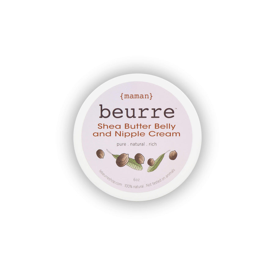 BEURRE Maman Shea Butter Belly & Nipple Cream, Skin Treatment, BEURRE, Luvi Beauty & Wellness