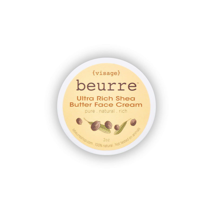 BEURRE Visage Ultra Rich Shea Butter Face Cream, Facial Moisturizer, BEURRE, Luvi Beauty