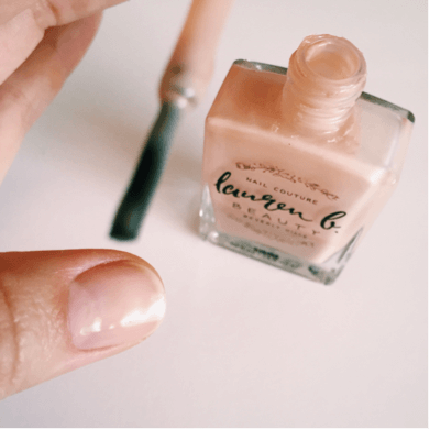 LAUREN B Nail Perfecter Base Coat, NAIL POLISH, LAUREN B, Luvi Beauty