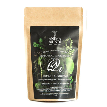 ANIMA MUNDI Qi Energy & Protein Superpowder-Ingestible-Luvi Beauty & Wellness