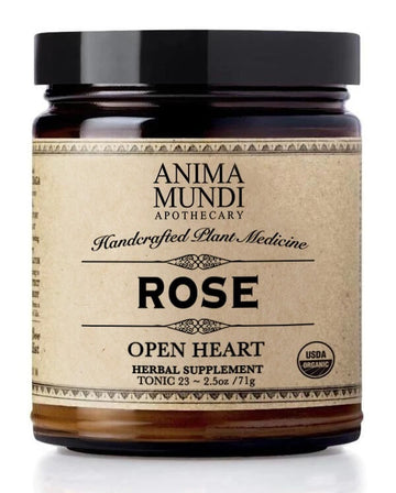 ANIMA MUNDI Rose Powder-Ingestible-Luvi Beauty & Wellness